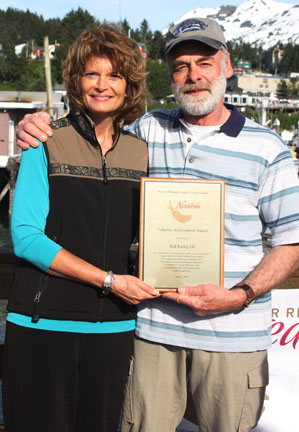 Sen. Lisa Murkowski and Bill Bailey III