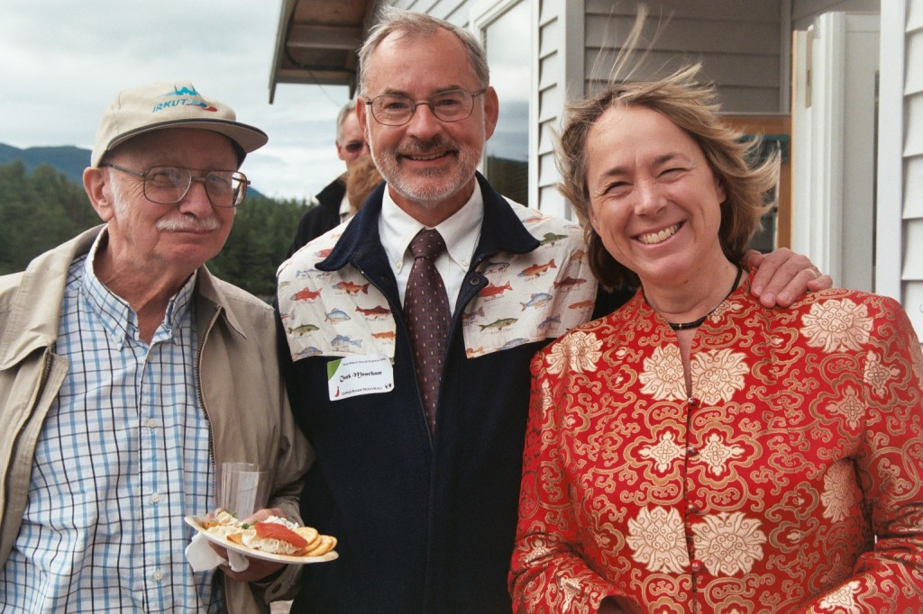 Walt Parker, Chuck Meacham, and Mary Anne Bishop
