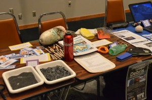 The Alaska SeaLife Center raised awareness about marine debris and its impacts on all life in the ocean