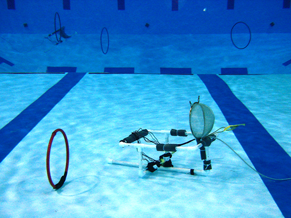 ROV Challenge at the pool