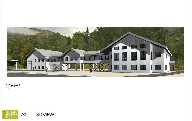 New Building RIM Concept Drawing 3